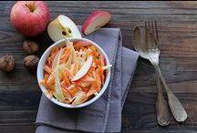 Les petits plats équilibrés / Le soleil arrive avec l'envie de manger plus léger ! Retrouvez nos recettes de petits plats équilibrés aux pommes !
