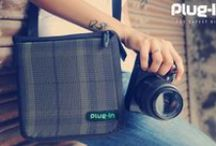 plugin - The toughest camera bag / Plug-in is tested and proven with 100Kg weight, with a camera inside. So let Plug-in take care of your beloved camera and have a carefree shooting experience! PLUG-IN is awarded as Best Personal Products and Accessories Design 2012-13 by I-Design Award