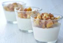 Verrines aux pommes / La star #verrine se met au service de la #pomme pour venir la sublimer davantage... Découvrez des #recettes tendances à déguster en encas, à l'apéro, en entrée, en plat ou en dessert !