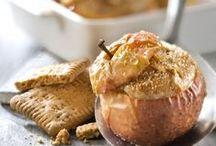 Pommes au four / La pomme au four reste une version privilégiée de la pomme cuite... Découvrez des #recettes pour la décliner à l'infini !
