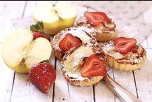 Pomme et Fraise / #Recettes de méli-mélo de fraises et de pommes qui mélangent les saveurs de deux fruits sucrés et colorés, qui vous feront le plus grand bien.
