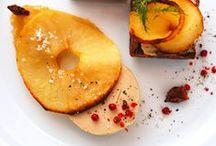 Foie gras aux pommes / Découvrez des #recettes de pommes alliées au foie gras pour des plats fins et originaux.