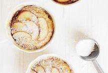 Tartelettes aux pommes / Retrouvez plein de recettes de tartelettes des plus classiques aux plus originales, sucrées ou salées, et régalez-vous de ces petites migniardises !