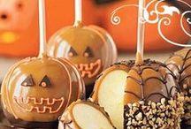 Halloween / Comment utiliser les pommes en décorations ou en collations pour la fête d'halloween ? trouvez trucs et astuces pour mettre de la pomme à l'honneur pour Halloween !