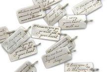 Message Me! / Wear your favorite message to carry it wherever you go - or give one as a gift to someone special. #messagecharm #affirmationcharm / by Heart & Stone Jewelry
