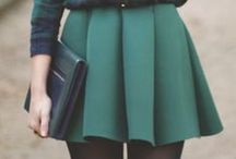 Green Skirts Inspiration / Post up you very best and gorgeous Green Skirts to this group board to share with everyone and show us what inspire's your wardrobe <3 Feel free to invite friends
