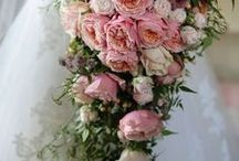pink  wedding flowers / Beautiful pink blooms from blush pinks to deep lush shades