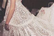 Wedding Wardrobe / wedding dresses, lingerie, hair, beauty, shoes & bridesmaid dresses...