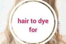 Hair To Dye For / So many beautiful hairstyles, we wish we all had our own daily personal hair stylists! @barebeautyaus