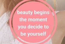 Beauty Begins / beauty begins the moment you decide to be yourself - coco chanel @barebeautyaus