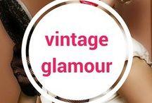 Vintage Glamour / Vintage styled elegance.