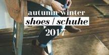 Shoes | Schuhe Trends 2017 Autumn Winter / Diese Schuhtrends werden 2017 defintiv kommen...