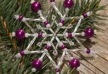 Vánoční ozdoby 2017 / Christmas snowflakes 2017