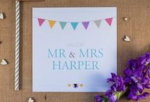KATE Wedding Stationery / Our KATE stationery is inspired by a typical english tea party in the midst of summer, outdoors, surrounded by the floral scents of a beautiful English country garden.  For more info please visit: www.jellypress.co.uk