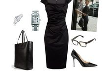 Must havezzzz / What is important in a dress is the woman who is wearing it-ysl