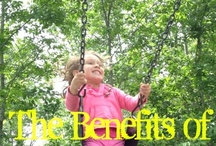 Outdoor Play / Expand your child's world and mind by making sure they get their daily dose of nature!