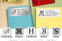 Colorful Labels / Address Labels, packaging labels, business labels, apparel labels