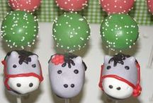 animal cake pops / We make all sorts of animal cake pops from jungle animals to sea creatures to barn animals....
