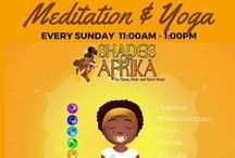Events @Shades of Afrika / Learn more about our weekly events that are held every Thursday, Saturday, and Sunday morning