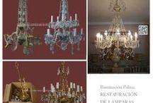 RESTAURACION DE LAMPARAS / restauración de lámparas realizadas por iluminación Palma restauradores de lámparas #restauracionlamparas #restauraciondelamparas #lamparas #arañasdecristal  #lamparasclasicas