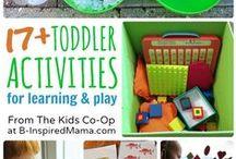 Jeux et bricolages pour les petits / On joue!