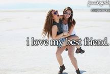 """Me and my Best Friend / """"A friend loves at all times"""" Proverbs 17:17a"""