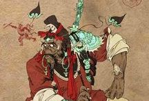 china: mythology (myths/legends/beasts)
