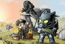 Fallout / by Drewniany Pajacyk
