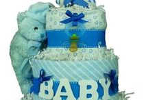 Diaper Cakes for Baby Boys