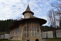 Monastery Voroneț - Gura Humorului / Monastery Voroneț - Gura-Humorului - Suceava - Romania