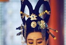 China: hairstyles & hairpins