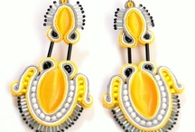 Earrings soutache by martazare sutasz / Soutache earrings made by martazare