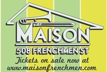 Live Music Shows / Get more info on all of our upcoming shows at http://maisonfrenchmen.com