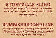Cocktails / Delicious New Orleans cocktails.