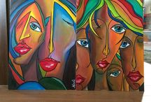 Acrylic paint / Acrylic painting