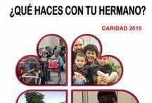 Histórico de Carteles de la CAMPAÑA DE CARIDAD de Cáritas Madrid / Nuestra historia a través de los CARTELES DE LA CAMPAÑA DE CARIDAD