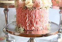 Torták / Cakes /  Esküvői torták, édességek és desszertasztalok gyűjteménye / Wedding cakes, sweets, chocolates and desert table ideas
