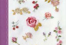 Stitches / Embroidery stitches / by Eva Mellein
