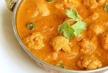 Indian food / Indian vegetarian dishes
