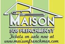 #JazzFest2016 at The Maison / Check out all of our #JazzFest 2016 Late Night shows happening at The Maison April 21st-April 30th!