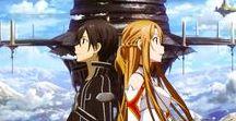 Sword Art Online / Kirito Asuna and Yui ^^