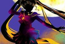 Sailor Moon / Moon Mercury Jupiter Mars Venus Luna and Diana