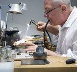 In The Workshop / Goldsmiths' Fair Exhibitors Work In Progress Pieces