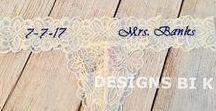 Personalized bridal lingerie
