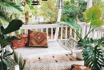 - porche de ma maison -