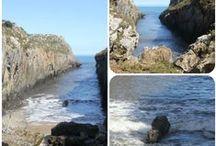 Playas de Llanes, Asturias cercanas a Casa Rural La Boleta. / Las #Playas más bellas de #Llanes, #Asturias cerca de Casa rural La Boleta. La playa de Vidiago o Bretones, la playa de la Franca, la playa de Pendueles, la playa de Buelna,... Playas de arena fina, bonitos acantilados, agua cristalina