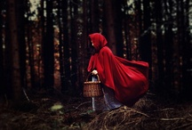 Little Red Riding Hood / Inspirational board for un upcoming photographic project.