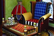 Whimsical  / #color#painted#furniture#bohemian#rooms / by For The Love of the Journey