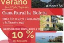 Ofertas casa rural en Llanes, la Boleta. En Asturias / #Ofertas en casa rural en Llanes, Asturias,.Oferta de verano en casas rurales en Llanes.Ofertas para el mes de Junio, Julio , Agosto en cualquiera de nuestros apartamentos rurales para 2-4-6 personas