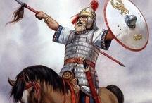Barbarians at the Gates .º˙˚•.˜ / ~ Celt . Keltoi . Galatian . Belgae . Celt-Iberian . Iberian . Lusitani . Cimbri . Teutones . Chatti . Suebi . Harii . Ostrogoth . Visigoth . Vandal . Lombard . Angles . Jutes . Saxon . Germanic . Caledonians . Pict ~ / by Richard da Mota